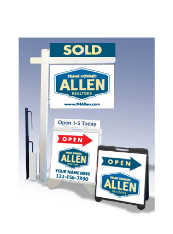 real estate sign design. Real Estate Signs for Frank