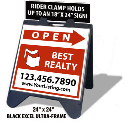 Ultra A Frame Signs Create Your Own Company Design