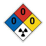 nfpa s hazard diamond safety signs labels excel sign decal