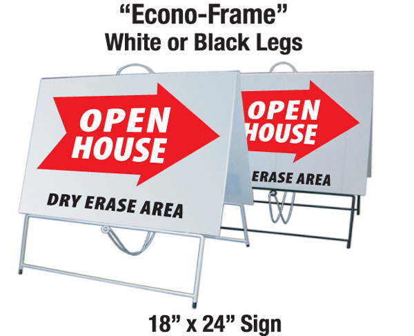 Econo Red Stock Open (white frame)