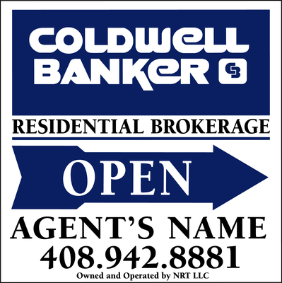 Coldwell Banker Real Estate on Coldwell Banker Open House Super Frame    Coldwell Banker Real Estate