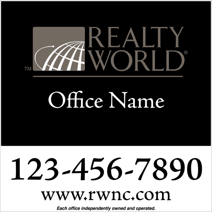 realty world platinum office 24x24    realty world for